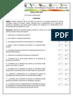 cuestionario MECANICA