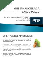 Apalancamiento y Estructura Del Capital