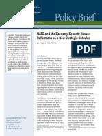 NATO and the Economy-Security Nexus