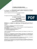 Ley Reforma Agrarisa 1971 (1)