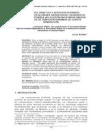 BioDerecho, genética y derechos humanos. Análisis de los alcances jurídicos del BioDerecho europeo y su posible aplicación en Estados Unidos como fuente de ddhh de cuarta generación (Erick Valdés, ene2013)