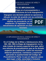 13.LA IMPUGNACION EN EL CODIGO DE NIÑEZ Y