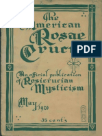 AMORC - The American Rosae Crucis, May 1920