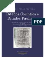 LIVRO Ditados Corintios e Paulinos 2011 ETC 3a Ed