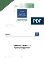 Fondo di Garanzia MCC Slides