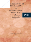 1930 the Rotation of the Galaxy Being the Halley Lecture (Arthur S. Eddington)