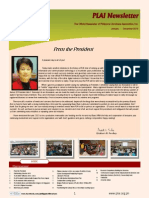 PLAI 2013 Newsletter