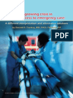 A growing crisis in patient access to emergency care. A different interpretation and alternative solutions.pdf