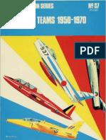 Osprey - Aircam Aviation Series S07 - Aerobatic Teams 1950-1970 Vol 1