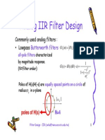 Filter Design IIR