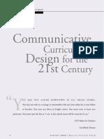 Curriculum Design for the 21st Century