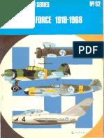 Osprey - Aircam Aviation Series S02 - Finnish Air Force 1918-1968