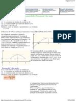 Teoremas Del Calculo Diferencial