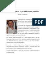 Textos IL - Colaboradores - Col - MG - Afinal de contas  o que é um crime político