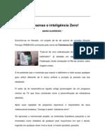 Textos IL - Colaboradores - Col - MG - Bom senso e inteligência zero