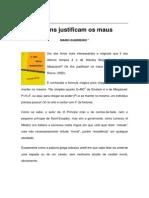 Textos IL - Colaboradores - Col - MG - Os Fins Justificam Os Maus