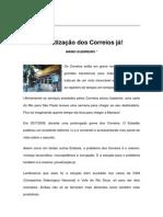 Textos IL - Colaboradores - Col - MG - PRIVATIZAÇÃO DOS CORREIOS JA!