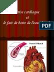 Eau Chaude Et Le Coeur