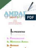 Mengenal AMDAL  Asdep