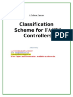 Classification Scheme for FACTS Controllers
