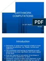 Surveying BEC102 7 - Earthwork Volume