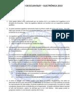 Reglamento de Ecuavoley