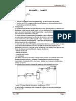 Actividad 2.1 - Curva EFV