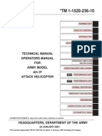 AH-1F Attack Helicopter Operators & Technical Manual