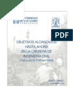 Tabulador Asignaturas Ingenieria Civil