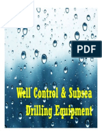 Well Control and Subsea Drilling Equipment