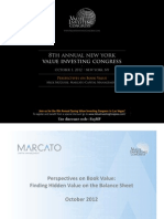 Mick McGuire Value Investing Congress Presentation Marcato Capital Management