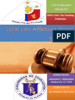 Legal Law Affecting Schools