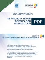 Ley Educacion Intercultural