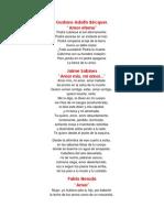 Poemas Del Romantisismo