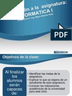 Presentacion de Asignatura