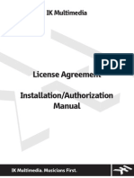 Install and Authorization Manual