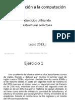 Ejercicio Academia de idiomas, uso de dos Clases