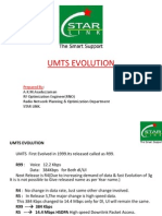 Umts Wcdma Evolution 3g