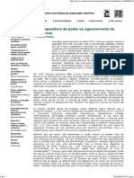 Eduardo Pellejero, Dos dispositivos do poder ao agenciamento da resistência (In. Comciência, nº98)