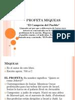 Profeta Miqueas Power Point