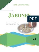 Jabones (INFORME)