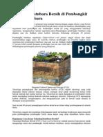 Teknologi Batubara Bersih Di Pembangkit Listrik Batubara