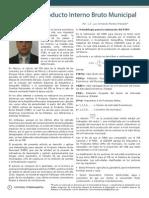 Cálculo del PIB Municipal para el Estado de Sonora