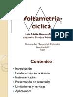 Voltametria cíclica
