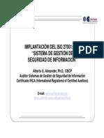 Implantacion Del ISO 27001 2005