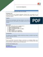 Plano de WebQuest