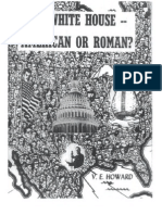 Howard - The White House - American or Roman (Set Against Roman Catholic JFK Presidency)(1960)