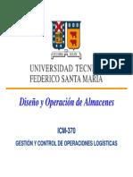 Cap II - Diseno y Operacion de Almacenes 1pp
