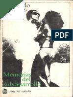 Memorias Del Subdesarrollo - Edmundo Desnoes