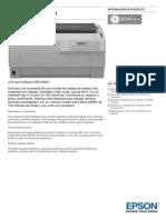 Epson-DFX-9000-Información de producto
